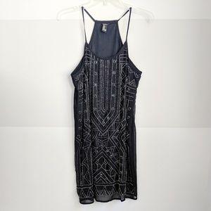Forever 21 Beaded Flapper Dress M